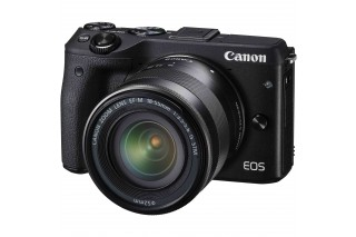 Canon EOS M3 Mirrorless Camera with 18-55mm IS STM